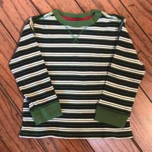 Crazy 8 Striped Long Sleeved Shirt Size 5